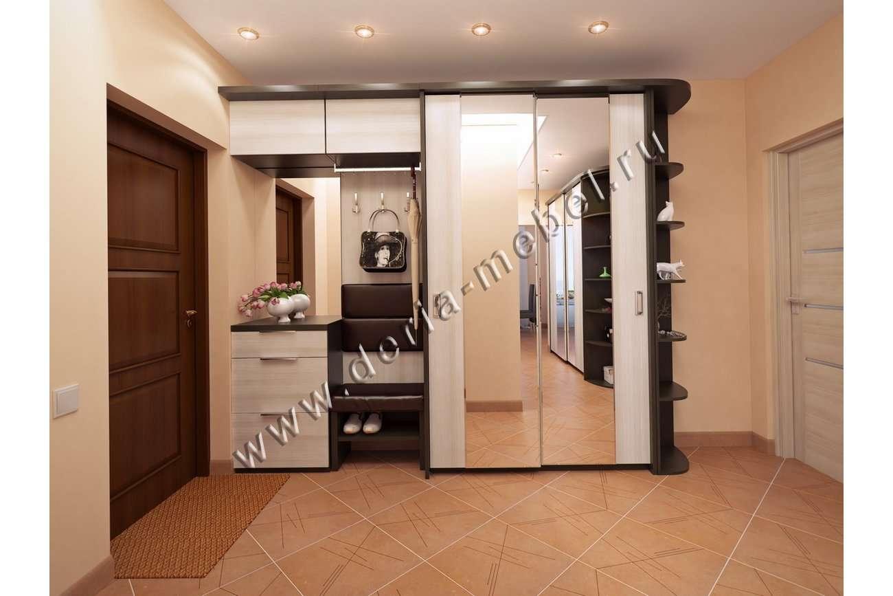 Шкаф с зеркалом в прихожую, какие существуют модели конструк.